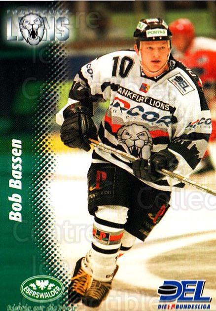 1999-00 German DEL #81 Bob Bassen<br/>7 In Stock - $2.00 each - <a href=https://centericecollectibles.foxycart.com/cart?name=1999-00%20German%20DEL%20%2381%20Bob%20Bassen...&quantity_max=7&price=$2.00&code=160787 class=foxycart> Buy it now! </a>