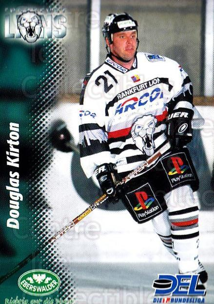 1999-00 German DEL #87 Douglas Kirton<br/>10 In Stock - $2.00 each - <a href=https://centericecollectibles.foxycart.com/cart?name=1999-00%20German%20DEL%20%2387%20Douglas%20Kirton...&quantity_max=10&price=$2.00&code=160792 class=foxycart> Buy it now! </a>