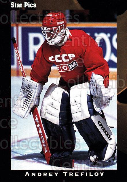 1991 Star Pics #49 Andrei Trefilov<br/>6 In Stock - $1.00 each - <a href=https://centericecollectibles.foxycart.com/cart?name=1991%20Star%20Pics%20%2349%20Andrei%20Trefilov...&quantity_max=6&price=$1.00&code=16079 class=foxycart> Buy it now! </a>