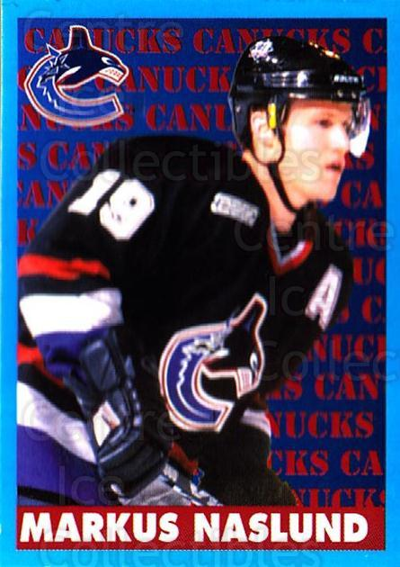 1999-00 Panini Stickers #310 Markus Naslund<br/>2 In Stock - $1.00 each - <a href=https://centericecollectibles.foxycart.com/cart?name=1999-00%20Panini%20Stickers%20%23310%20Markus%20Naslund...&quantity_max=2&price=$1.00&code=160956 class=foxycart> Buy it now! </a>