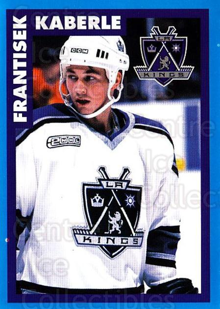 1999-00 Panini Stickers #357 Frantisek Kaberle<br/>5 In Stock - $1.00 each - <a href=https://centericecollectibles.foxycart.com/cart?name=1999-00%20Panini%20Stickers%20%23357%20Frantisek%20Kaber...&quantity_max=5&price=$1.00&code=160992 class=foxycart> Buy it now! </a>
