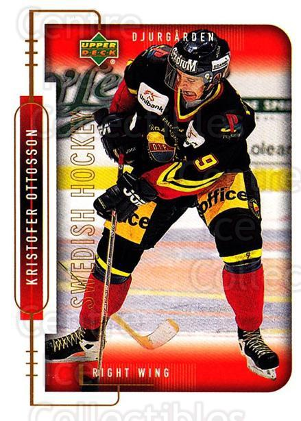 1999-00 Swedish Upper Deck #47 Kristofer Johansson<br/>7 In Stock - $2.00 each - <a href=https://centericecollectibles.foxycart.com/cart?name=1999-00%20Swedish%20Upper%20Deck%20%2347%20Kristofer%20Johan...&quantity_max=7&price=$2.00&code=161099 class=foxycart> Buy it now! </a>