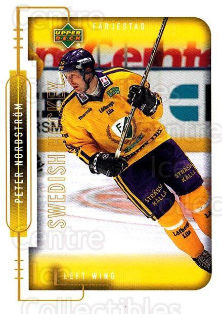 1999-00 Swedish Upper Deck #59 Peter Nordstrom<br/>5 In Stock - $2.00 each - <a href=https://centericecollectibles.foxycart.com/cart?name=1999-00%20Swedish%20Upper%20Deck%20%2359%20Peter%20Nordstrom...&quantity_max=5&price=$2.00&code=161111 class=foxycart> Buy it now! </a>