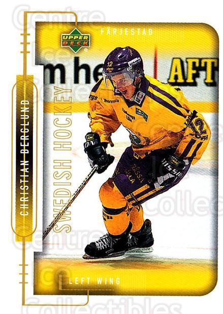 1999-00 Swedish Upper Deck #68 Christian Berglund<br/>6 In Stock - $2.00 each - <a href=https://centericecollectibles.foxycart.com/cart?name=1999-00%20Swedish%20Upper%20Deck%20%2368%20Christian%20Bergl...&quantity_max=6&price=$2.00&code=161121 class=foxycart> Buy it now! </a>