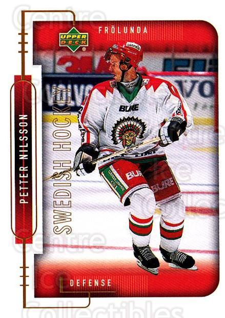 1999-00 Swedish Upper Deck #70 Petter Nilsson<br/>6 In Stock - $2.00 each - <a href=https://centericecollectibles.foxycart.com/cart?name=1999-00%20Swedish%20Upper%20Deck%20%2370%20Petter%20Nilsson...&quantity_max=6&price=$2.00&code=161124 class=foxycart> Buy it now! </a>