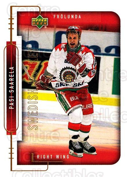 1999-00 Swedish Upper Deck #78 Pasi Saarela<br/>7 In Stock - $2.00 each - <a href=https://centericecollectibles.foxycart.com/cart?name=1999-00%20Swedish%20Upper%20Deck%20%2378%20Pasi%20Saarela...&quantity_max=7&price=$2.00&code=161131 class=foxycart> Buy it now! </a>
