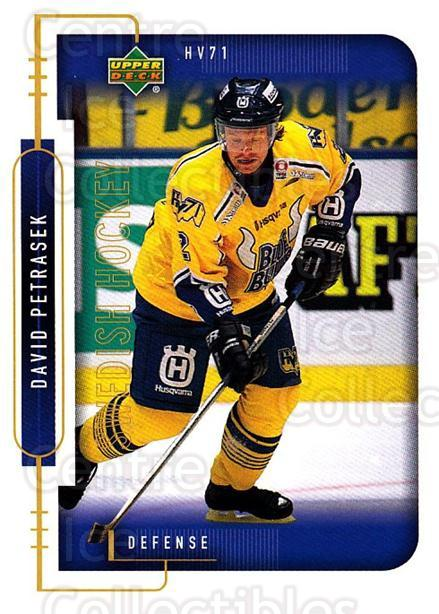1999-00 Swedish Upper Deck #87 David Petrasek<br/>10 In Stock - $2.00 each - <a href=https://centericecollectibles.foxycart.com/cart?name=1999-00%20Swedish%20Upper%20Deck%20%2387%20David%20Petrasek...&quantity_max=10&price=$2.00&code=161140 class=foxycart> Buy it now! </a>