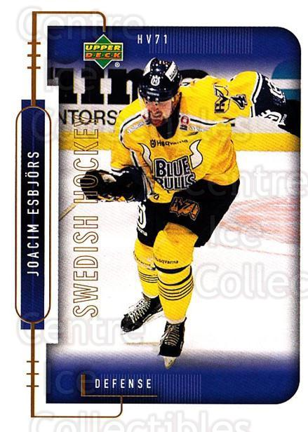 1999-00 Swedish Upper Deck #88 Joacim Esbjors<br/>10 In Stock - $2.00 each - <a href=https://centericecollectibles.foxycart.com/cart?name=1999-00%20Swedish%20Upper%20Deck%20%2388%20Joacim%20Esbjors...&quantity_max=10&price=$2.00&code=161141 class=foxycart> Buy it now! </a>