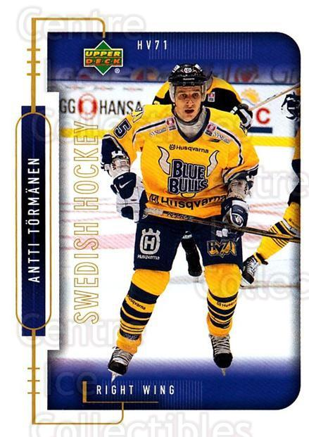 1999-00 Swedish Upper Deck #96 Antti Tormanen<br/>4 In Stock - $2.00 each - <a href=https://centericecollectibles.foxycart.com/cart?name=1999-00%20Swedish%20Upper%20Deck%20%2396%20Antti%20Tormanen...&quantity_max=4&price=$2.00&code=161150 class=foxycart> Buy it now! </a>