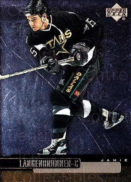 1999-00 Upper Deck Gold Reserve #45 Jamie Langenbrunner<br/>4 In Stock - $1.00 each - <a href=https://centericecollectibles.foxycart.com/cart?name=1999-00%20Upper%20Deck%20Gold%20Reserve%20%2345%20Jamie%20Langenbru...&quantity_max=4&price=$1.00&code=161242 class=foxycart> Buy it now! </a>