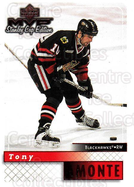 1999-00 Upper Deck MVP SC Edition #43 Tony Amonte<br/>4 In Stock - $1.00 each - <a href=https://centericecollectibles.foxycart.com/cart?name=1999-00%20Upper%20Deck%20MVP%20SC%20Edition%20%2343%20Tony%20Amonte...&quantity_max=4&price=$1.00&code=161360 class=foxycart> Buy it now! </a>