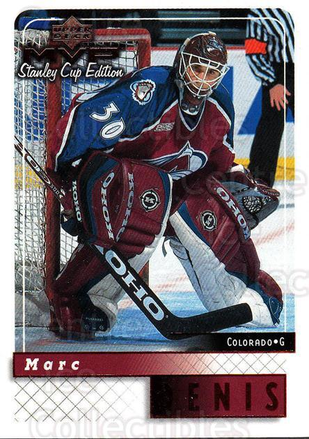 1999-00 Upper Deck MVP SC Edition #56 Marc Denis<br/>4 In Stock - $1.00 each - <a href=https://centericecollectibles.foxycart.com/cart?name=1999-00%20Upper%20Deck%20MVP%20SC%20Edition%20%2356%20Marc%20Denis...&quantity_max=4&price=$1.00&code=161374 class=foxycart> Buy it now! </a>