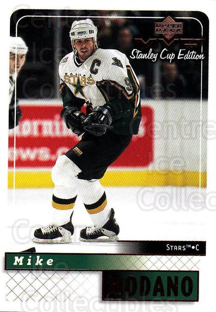 1999-00 Upper Deck MVP SC Edition #58 Mike Modano<br/>4 In Stock - $1.00 each - <a href=https://centericecollectibles.foxycart.com/cart?name=1999-00%20Upper%20Deck%20MVP%20SC%20Edition%20%2358%20Mike%20Modano...&quantity_max=4&price=$1.00&code=161376 class=foxycart> Buy it now! </a>