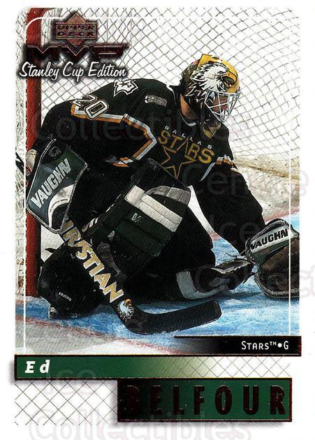 1999-00 Upper Deck MVP SC Edition #59 Ed Belfour<br/>2 In Stock - $1.00 each - <a href=https://centericecollectibles.foxycart.com/cart?name=1999-00%20Upper%20Deck%20MVP%20SC%20Edition%20%2359%20Ed%20Belfour...&quantity_max=2&price=$1.00&code=161377 class=foxycart> Buy it now! </a>