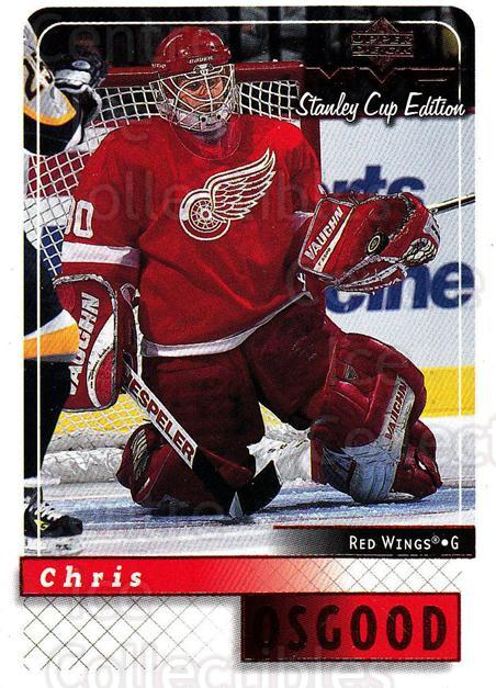 1999-00 Upper Deck MVP SC Edition #66 Chris Osgood<br/>3 In Stock - $1.00 each - <a href=https://centericecollectibles.foxycart.com/cart?name=1999-00%20Upper%20Deck%20MVP%20SC%20Edition%20%2366%20Chris%20Osgood...&quantity_max=3&price=$1.00&code=161384 class=foxycart> Buy it now! </a>