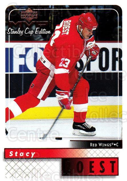 1999-00 Upper Deck MVP SC Edition #70 Stacy Roest<br/>3 In Stock - $1.00 each - <a href=https://centericecollectibles.foxycart.com/cart?name=1999-00%20Upper%20Deck%20MVP%20SC%20Edition%20%2370%20Stacy%20Roest...&quantity_max=3&price=$1.00&code=161389 class=foxycart> Buy it now! </a>
