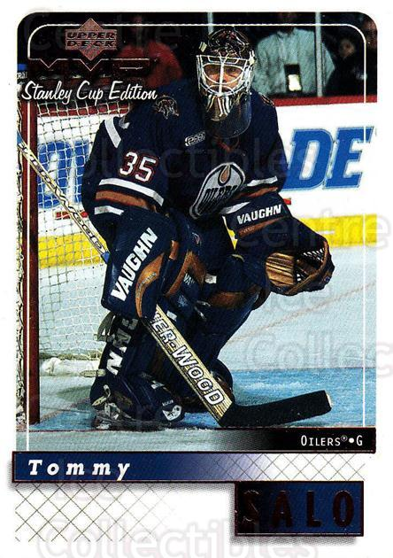 1999-00 Upper Deck MVP SC Edition #71 Tommy Salo<br/>4 In Stock - $1.00 each - <a href=https://centericecollectibles.foxycart.com/cart?name=1999-00%20Upper%20Deck%20MVP%20SC%20Edition%20%2371%20Tommy%20Salo...&quantity_max=4&price=$1.00&code=161390 class=foxycart> Buy it now! </a>