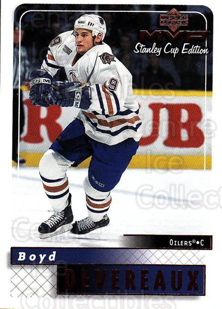 1999-00 Upper Deck MVP SC Edition #75 Boyd Devereaux<br/>4 In Stock - $1.00 each - <a href=https://centericecollectibles.foxycart.com/cart?name=1999-00%20Upper%20Deck%20MVP%20SC%20Edition%20%2375%20Boyd%20Devereaux...&quantity_max=4&price=$1.00&code=161394 class=foxycart> Buy it now! </a>