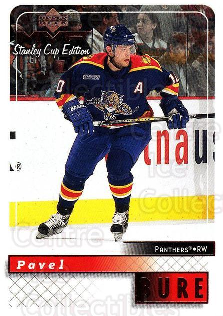 1999-00 Upper Deck MVP SC Edition #77 Pavel Bure<br/>4 In Stock - $1.00 each - <a href=https://centericecollectibles.foxycart.com/cart?name=1999-00%20Upper%20Deck%20MVP%20SC%20Edition%20%2377%20Pavel%20Bure...&quantity_max=4&price=$1.00&code=161396 class=foxycart> Buy it now! </a>