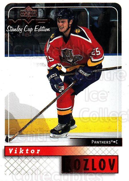 1999-00 Upper Deck MVP SC Edition #78 Viktor Kozlov<br/>4 In Stock - $1.00 each - <a href=https://centericecollectibles.foxycart.com/cart?name=1999-00%20Upper%20Deck%20MVP%20SC%20Edition%20%2378%20Viktor%20Kozlov...&quantity_max=4&price=$1.00&code=161397 class=foxycart> Buy it now! </a>