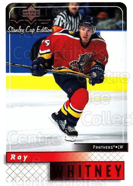 1999-00 Upper Deck MVP SC Edition #81 Ray Whitney<br/>4 In Stock - $1.00 each - <a href=https://centericecollectibles.foxycart.com/cart?name=1999-00%20Upper%20Deck%20MVP%20SC%20Edition%20%2381%20Ray%20Whitney...&quantity_max=4&price=$1.00&code=161400 class=foxycart> Buy it now! </a>