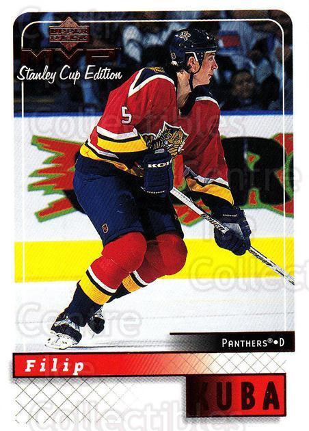 1999-00 Upper Deck MVP SC Edition #82 Filip Kuba<br/>4 In Stock - $1.00 each - <a href=https://centericecollectibles.foxycart.com/cart?name=1999-00%20Upper%20Deck%20MVP%20SC%20Edition%20%2382%20Filip%20Kuba...&quantity_max=4&price=$1.00&code=161401 class=foxycart> Buy it now! </a>