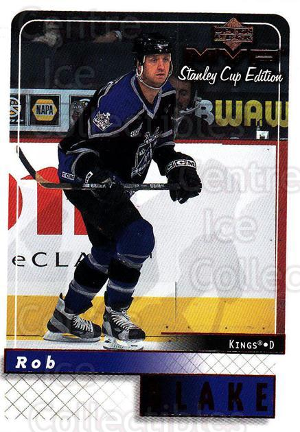 1999-00 Upper Deck MVP SC Edition #87 Rob Blake<br/>4 In Stock - $1.00 each - <a href=https://centericecollectibles.foxycart.com/cart?name=1999-00%20Upper%20Deck%20MVP%20SC%20Edition%20%2387%20Rob%20Blake...&quantity_max=4&price=$1.00&code=161406 class=foxycart> Buy it now! </a>