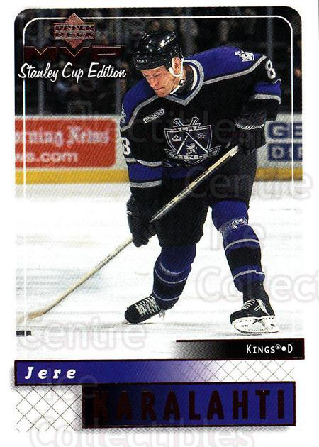 1999-00 Upper Deck MVP SC Edition #88 Jere Karalahti<br/>4 In Stock - $1.00 each - <a href=https://centericecollectibles.foxycart.com/cart?name=1999-00%20Upper%20Deck%20MVP%20SC%20Edition%20%2388%20Jere%20Karalahti...&quantity_max=4&price=$1.00&code=161407 class=foxycart> Buy it now! </a>