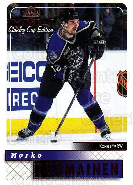 1999-00 Upper Deck MVP SC Edition #89 Marko Tuomainen<br/>4 In Stock - $1.00 each - <a href=https://centericecollectibles.foxycart.com/cart?name=1999-00%20Upper%20Deck%20MVP%20SC%20Edition%20%2389%20Marko%20Tuomainen...&quantity_max=4&price=$1.00&code=161408 class=foxycart> Buy it now! </a>