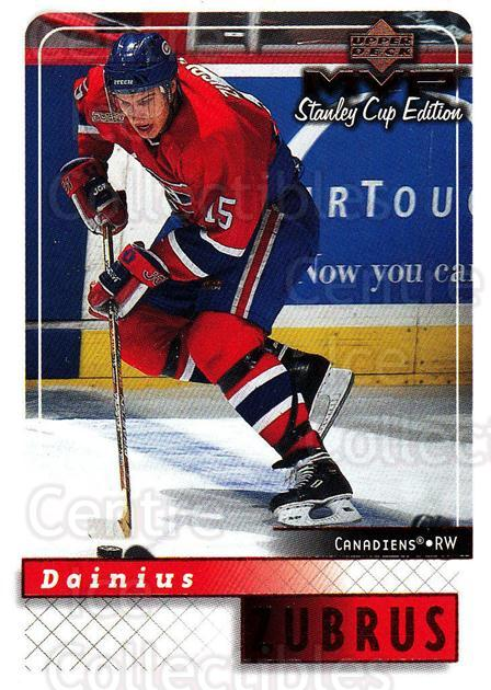 1999-00 Upper Deck MVP SC Edition #92 Dainius Zubrus<br/>4 In Stock - $1.00 each - <a href=https://centericecollectibles.foxycart.com/cart?name=1999-00%20Upper%20Deck%20MVP%20SC%20Edition%20%2392%20Dainius%20Zubrus...&quantity_max=4&price=$1.00&code=161412 class=foxycart> Buy it now! </a>