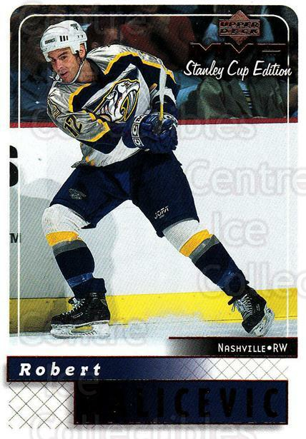 1999-00 Upper Deck MVP SC Edition #99 Rob Valicevic<br/>2 In Stock - $1.00 each - <a href=https://centericecollectibles.foxycart.com/cart?name=1999-00%20Upper%20Deck%20MVP%20SC%20Edition%20%2399%20Rob%20Valicevic...&quantity_max=2&price=$1.00&code=161419 class=foxycart> Buy it now! </a>