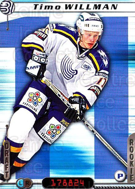 2000-01 Finnish Cardset #245 Timo Willman<br/>6 In Stock - $2.00 each - <a href=https://centericecollectibles.foxycart.com/cart?name=2000-01%20Finnish%20Cardset%20%23245%20Timo%20Willman...&quantity_max=6&price=$2.00&code=161677 class=foxycart> Buy it now! </a>