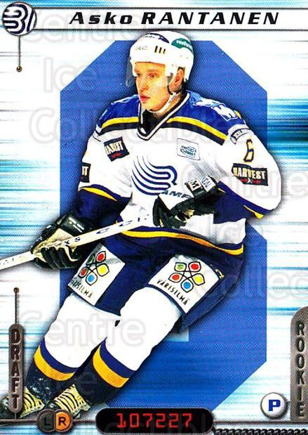 2000-01 Finnish Cardset #246 Asko Rantanen<br/>6 In Stock - $2.00 each - <a href=https://centericecollectibles.foxycart.com/cart?name=2000-01%20Finnish%20Cardset%20%23246%20Asko%20Rantanen...&quantity_max=6&price=$2.00&code=161678 class=foxycart> Buy it now! </a>