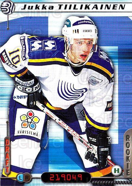 2000-01 Finnish Cardset #247 Jukka Tiilikainen<br/>6 In Stock - $2.00 each - <a href=https://centericecollectibles.foxycart.com/cart?name=2000-01%20Finnish%20Cardset%20%23247%20Jukka%20Tiilikain...&quantity_max=6&price=$2.00&code=161679 class=foxycart> Buy it now! </a>