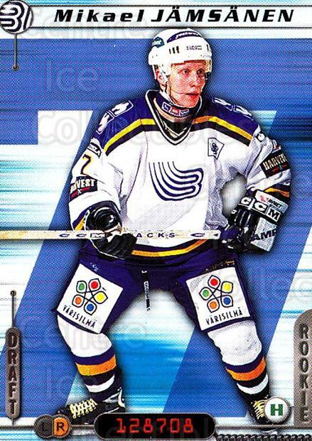2000-01 Finnish Cardset #248 Mikael Jamsanen<br/>6 In Stock - $2.00 each - <a href=https://centericecollectibles.foxycart.com/cart?name=2000-01%20Finnish%20Cardset%20%23248%20Mikael%20Jamsanen...&quantity_max=6&price=$2.00&code=161680 class=foxycart> Buy it now! </a>