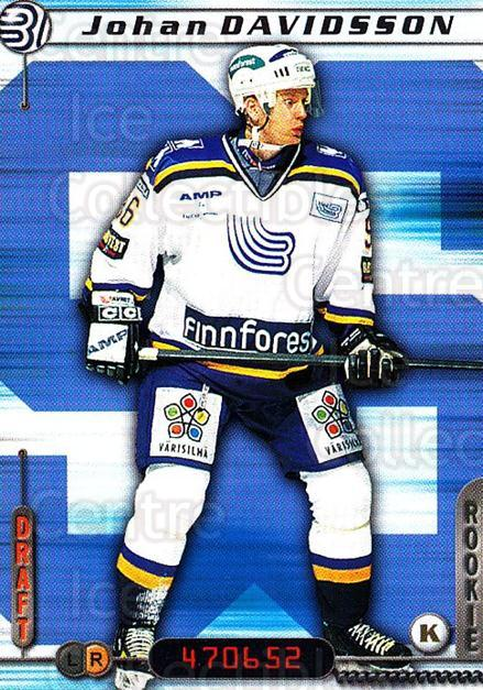2000-01 Finnish Cardset #251 Johan Davidsson<br/>6 In Stock - $2.00 each - <a href=https://centericecollectibles.foxycart.com/cart?name=2000-01%20Finnish%20Cardset%20%23251%20Johan%20Davidsson...&quantity_max=6&price=$2.00&code=161684 class=foxycart> Buy it now! </a>