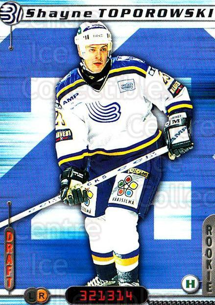 2000-01 Finnish Cardset #252 Shayne Toporowski<br/>5 In Stock - $2.00 each - <a href=https://centericecollectibles.foxycart.com/cart?name=2000-01%20Finnish%20Cardset%20%23252%20Shayne%20Toporows...&quantity_max=5&price=$2.00&code=161685 class=foxycart> Buy it now! </a>