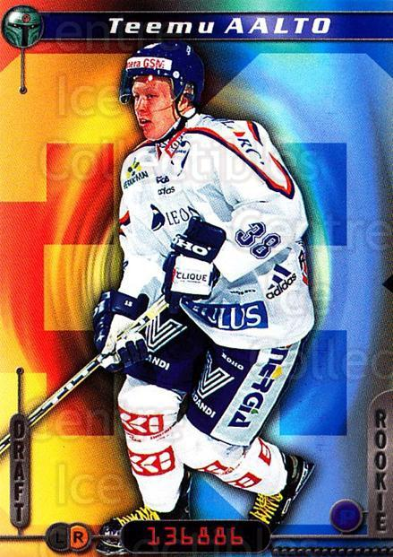 2000-01 Finnish Cardset #26 Teemu Aalto<br/>7 In Stock - $2.00 each - <a href=https://centericecollectibles.foxycart.com/cart?name=2000-01%20Finnish%20Cardset%20%2326%20Teemu%20Aalto...&quantity_max=7&price=$2.00&code=161692 class=foxycart> Buy it now! </a>