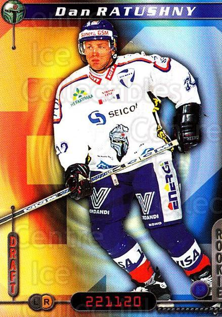 2000-01 Finnish Cardset #265 Dan Ratushny<br/>2 In Stock - $2.00 each - <a href=https://centericecollectibles.foxycart.com/cart?name=2000-01%20Finnish%20Cardset%20%23265%20Dan%20Ratushny...&quantity_max=2&price=$2.00&code=161698 class=foxycart> Buy it now! </a>
