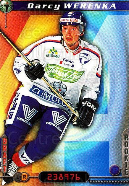 2000-01 Finnish Cardset #266 Darcy Werenka<br/>4 In Stock - $2.00 each - <a href=https://centericecollectibles.foxycart.com/cart?name=2000-01%20Finnish%20Cardset%20%23266%20Darcy%20Werenka...&quantity_max=4&price=$2.00&code=161699 class=foxycart> Buy it now! </a>