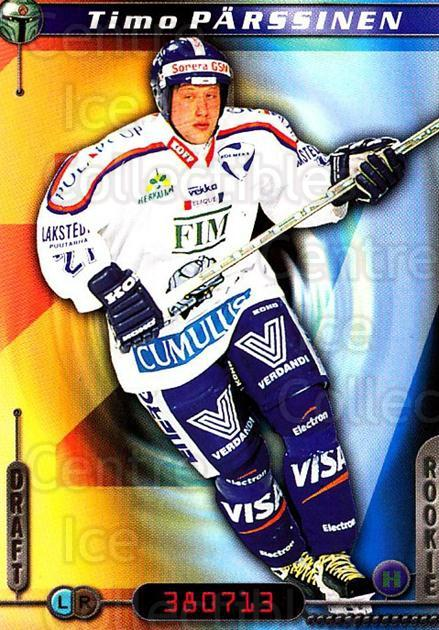 2000-01 Finnish Cardset #267 Timo Parssinen<br/>7 In Stock - $2.00 each - <a href=https://centericecollectibles.foxycart.com/cart?name=2000-01%20Finnish%20Cardset%20%23267%20Timo%20Parssinen...&quantity_max=7&price=$2.00&code=161700 class=foxycart> Buy it now! </a>