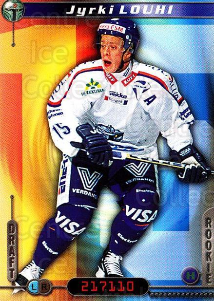 2000-01 Finnish Cardset #269 Jyrki Louhi<br/>6 In Stock - $2.00 each - <a href=https://centericecollectibles.foxycart.com/cart?name=2000-01%20Finnish%20Cardset%20%23269%20Jyrki%20Louhi...&quantity_max=6&price=$2.00&code=161702 class=foxycart> Buy it now! </a>