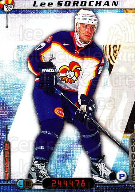 2000-01 Finnish Cardset #281 Lee Sorochan<br/>5 In Stock - $2.00 each - <a href=https://centericecollectibles.foxycart.com/cart?name=2000-01%20Finnish%20Cardset%20%23281%20Lee%20Sorochan...&price=$2.00&code=161715 class=foxycart> Buy it now! </a>
