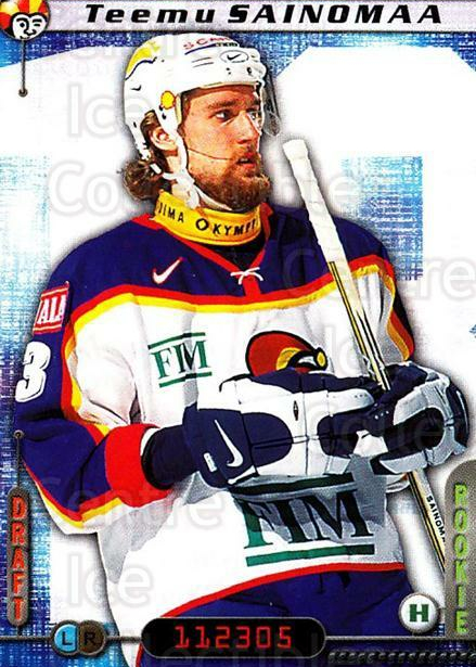 2000-01 Finnish Cardset #286 Teemu Sainomaa<br/>6 In Stock - $2.00 each - <a href=https://centericecollectibles.foxycart.com/cart?name=2000-01%20Finnish%20Cardset%20%23286%20Teemu%20Sainomaa...&price=$2.00&code=161720 class=foxycart> Buy it now! </a>