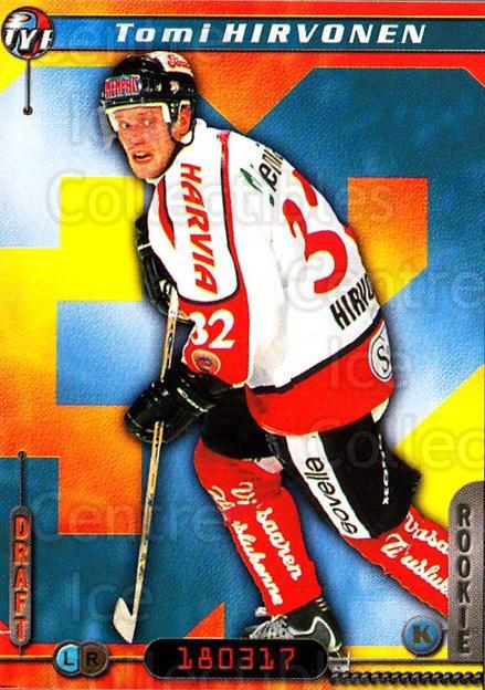 2000-01 Finnish Cardset #288 Tomi Hirvonen<br/>6 In Stock - $2.00 each - <a href=https://centericecollectibles.foxycart.com/cart?name=2000-01%20Finnish%20Cardset%20%23288%20Tomi%20Hirvonen...&quantity_max=6&price=$2.00&code=161722 class=foxycart> Buy it now! </a>
