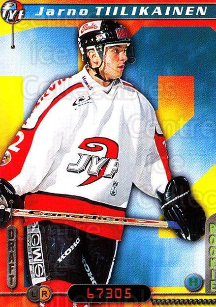 2000-01 Finnish Cardset #289 Jarno Tiilikainen<br/>5 In Stock - $2.00 each - <a href=https://centericecollectibles.foxycart.com/cart?name=2000-01%20Finnish%20Cardset%20%23289%20Jarno%20Tiilikain...&quantity_max=5&price=$2.00&code=161723 class=foxycart> Buy it now! </a>