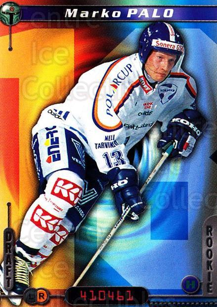 2000-01 Finnish Cardset #29 Marko Palo<br/>6 In Stock - $2.00 each - <a href=https://centericecollectibles.foxycart.com/cart?name=2000-01%20Finnish%20Cardset%20%2329%20Marko%20Palo...&quantity_max=6&price=$2.00&code=161724 class=foxycart> Buy it now! </a>
