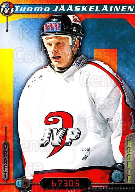 2000-01 Finnish Cardset #292 Tuomo Jaaskelainen<br/>6 In Stock - $2.00 each - <a href=https://centericecollectibles.foxycart.com/cart?name=2000-01%20Finnish%20Cardset%20%23292%20Tuomo%20Jaaskelai...&quantity_max=6&price=$2.00&code=161727 class=foxycart> Buy it now! </a>
