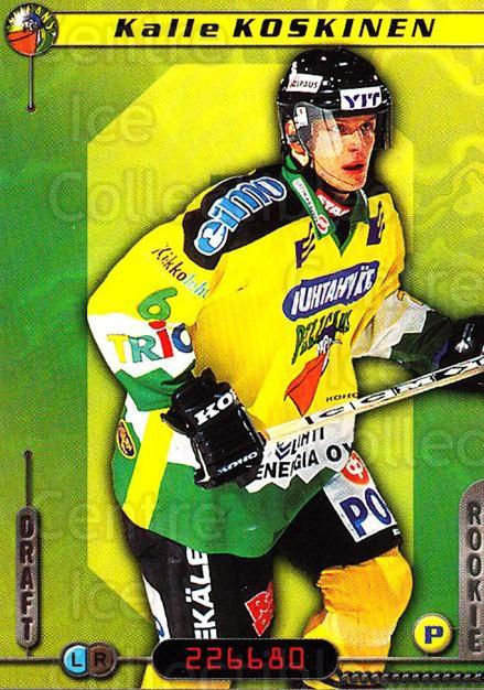 2000-01 Finnish Cardset #312 Kalle Koskinen<br/>7 In Stock - $2.00 each - <a href=https://centericecollectibles.foxycart.com/cart?name=2000-01%20Finnish%20Cardset%20%23312%20Kalle%20Koskinen...&quantity_max=7&price=$2.00&code=161750 class=foxycart> Buy it now! </a>