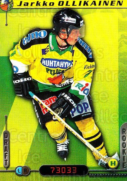 2000-01 Finnish Cardset #313 Jarkko Ollikainen<br/>7 In Stock - $2.00 each - <a href=https://centericecollectibles.foxycart.com/cart?name=2000-01%20Finnish%20Cardset%20%23313%20Jarkko%20Ollikain...&quantity_max=7&price=$2.00&code=161751 class=foxycart> Buy it now! </a>